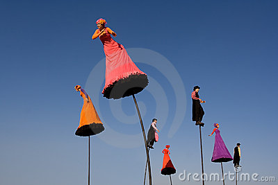 Strange Fruit performers Editorial Stock Photo