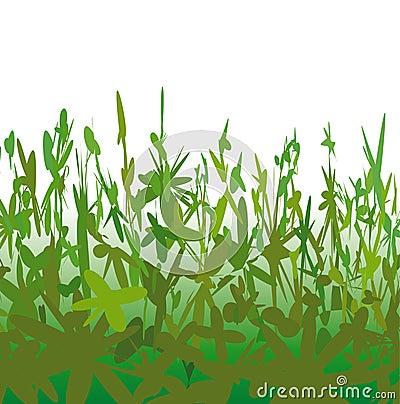 Strange vegetation (vector)