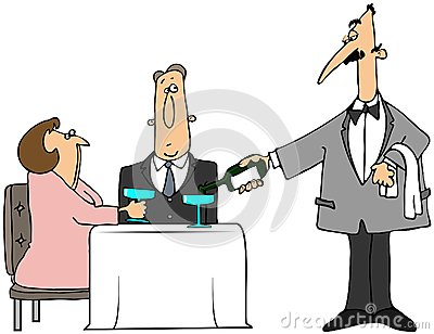 Strange Waiter