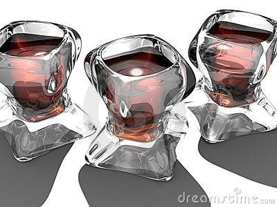 Strange Wine Glasses