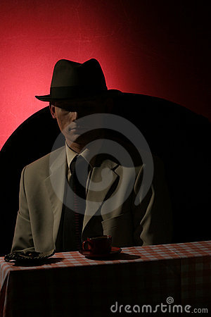 Stranger - man in grey hat
