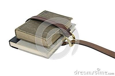 Strapped School books