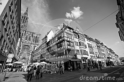 Strasborg city centre Editorial Photo