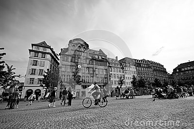 Strasborg city centre Editorial Stock Image