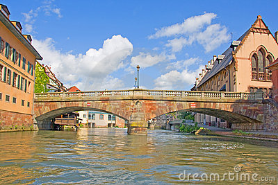 Strasbourg bridge