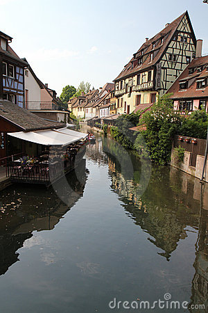 Strasbourg canal Editorial Image