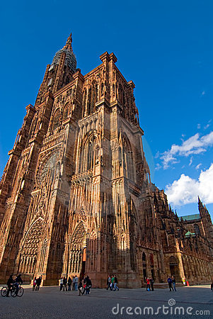 Free Strasbourg Cathedral Stock Images - 4121584