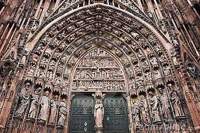 Strasbourg Cathedral Central Portal