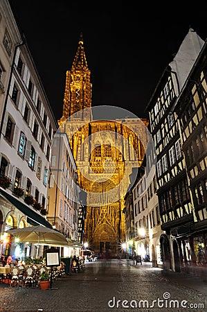Strasbourg Cathedral - night shot