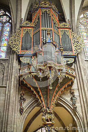 Strasbourg - The cathedral organ