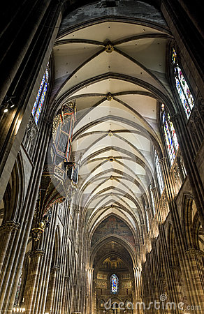 Strasbourg - The gothic cathedral, interior