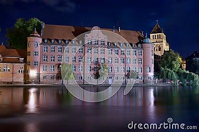 Strasbourg at night
