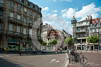 Strasbourg old town Editorial Stock Image
