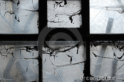 Straszny okno