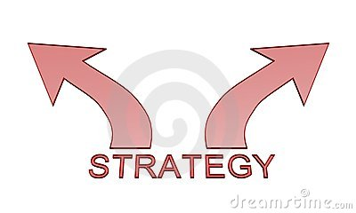 Strategy arrow icon