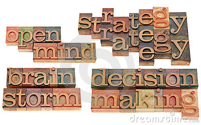 Strategy, brainstorm and decision making