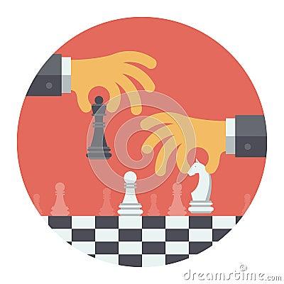 Free Strategy Flat Illustration Concept Stock Photo - 35512080