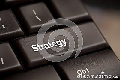 Strategy key button
