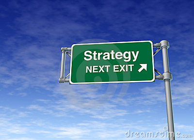 Strategy planning marketing plan business symbol r