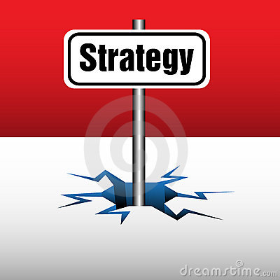 Strategy plate
