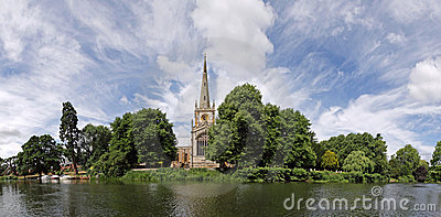 Stratford-upon-Avon panorama