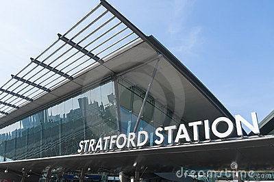 Stratford Station in London Editorial Image
