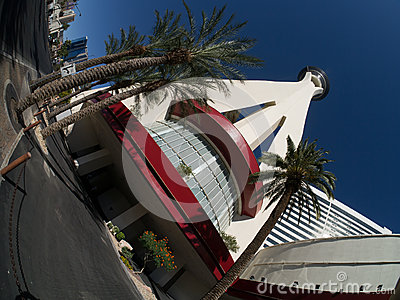 Stratosphere Hotel and Casino Las Vegas Editorial Stock Photo