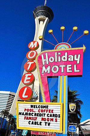 Stratosphere Hotel in Las Vegas, United States Editorial Photography