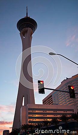 Stratosphere Las Vegas Editorial Photo