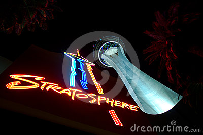 Stratosphere Las Vegas Editorial Photo