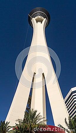 Stratosphere Hotel Las Vegas Nevada Editorial Image