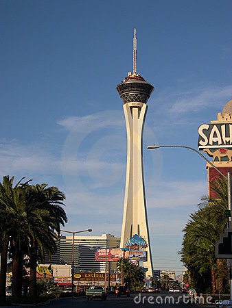 Stratosphere tower Editorial Stock Image