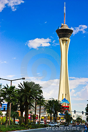 Stratosphere Tower, Las Vegas Editorial Image