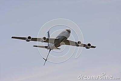 Stratotanker 135 kc Редакционное Стоковое Изображение