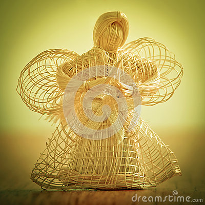 Straw angel.
