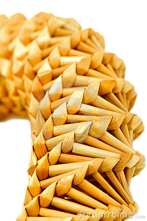 Straw decoration