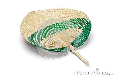 Straw fan