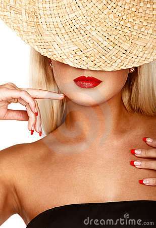Free Straw Hat Royalty Free Stock Images - 13689829