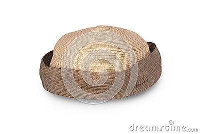 Straw lady s hat (bonnet).