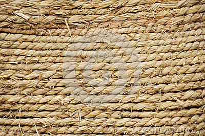 Straw rope texture