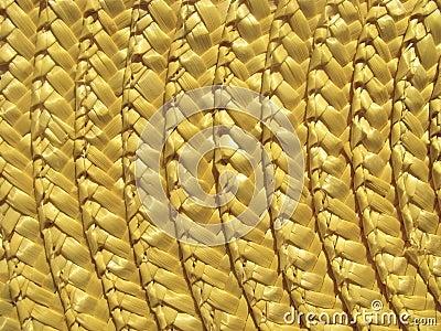 Straw texture.