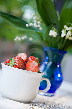 Free Strawberries Royalty Free Stock Photography - 2531747