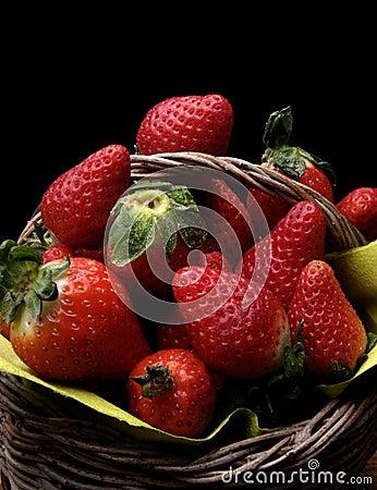Strawberries basket