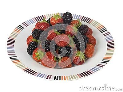 Strawberries and Blackberries