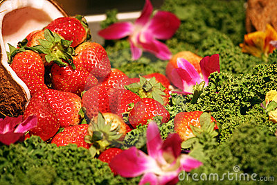 Strawberries Fruit Arrangement