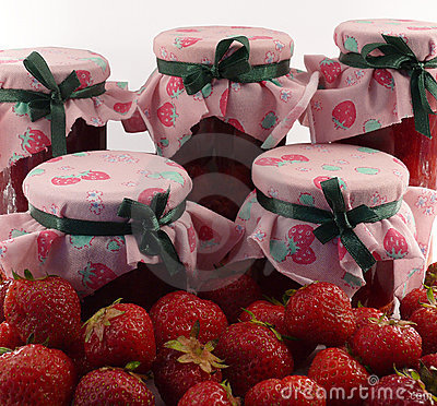 Free Strawberries: Fruits And Jams Stock Photo - 5533100