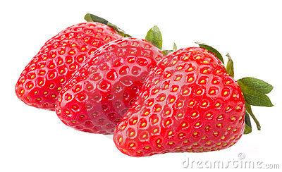 Strawberries fruits macro strawberry