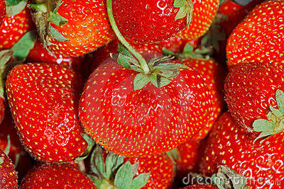 Strawberries Full Frame Background