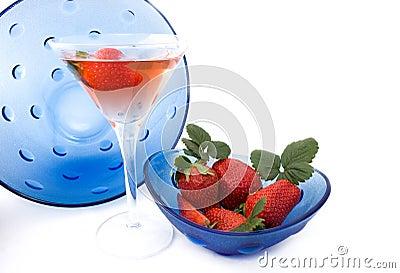 Strawberries Liqueur