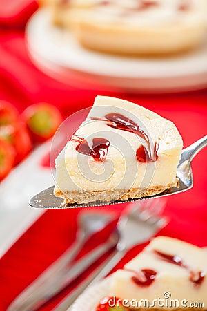 Strawberry Cheesecake Slice.